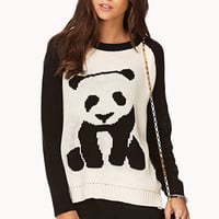 Quirky Panda Sweater