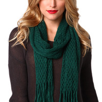 2-Way Tube Scarf in Green