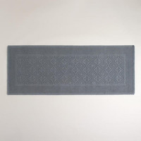 Gray Woven Bath Mat - World Market