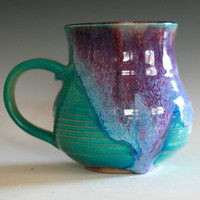 Large Coffee Mug, 20 oz, handmade ceramic cup
