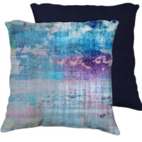Les Aventures Pillow Cover, velveteen