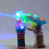 Light Up Bubble Gun, Fun Gift Idea