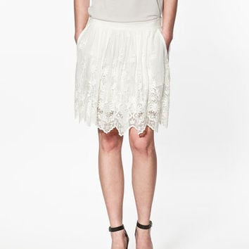 EMBROIDERED TULLE SKIRT - Skirts - Woman - ZARA United States