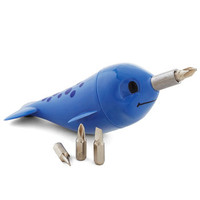 Gama-Go Nautical If These Narwhals Could Talk Screwdriver Set