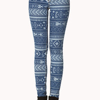 Adventurer Tribal Print Skinny Jeans