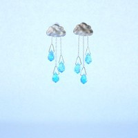 Sunshine over the rain earrings
