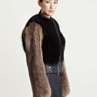 Givenchy Women's Raccoon Fur Jacket
