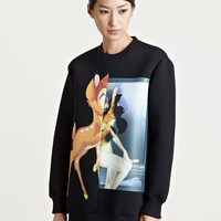 Givenchy Women's Printed Bambi Sweatshirt