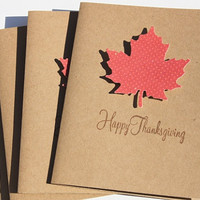 Modern Thanksgiving Cards