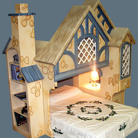 Hansel Cottage Bunk Bed