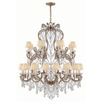 One Kings Lane - Celebrating 30 Years of Ralph Lauren Home - Large Adrianna Chandelier, Gilded Iron