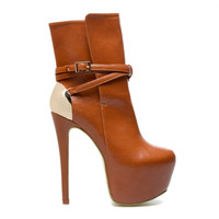 ShoeDazzle Kamara Bootie by Paper Fox