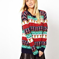 ASOS Christmas Pattern Jumper