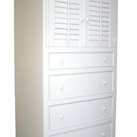 Four Drawer Plantation Cabinet