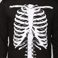 Skeletons Long-Sleeve Tee - Urban Outfitters