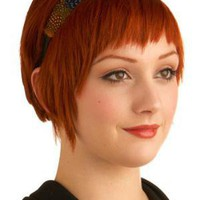 Prismatic Plumage Headband | Mod Retro Vintage Hair Accessories | ModCloth.com