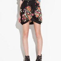 CROSSOVER SKIRT - Skirts - TRF - ZARA United States