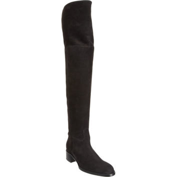 Sartore Nubuck Over-the-Knee Boot at Barneys New York at Barneys.com