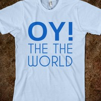 OY TO THE WORLD HANUKKAH SHIRT