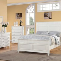 Elements Spencer 5-Piece Bed Set, Queen, White