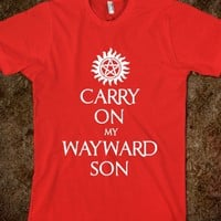 CARRY ON MY WAYWARD SON Spn text