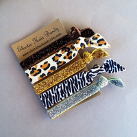 The Tia Elastic Hair Tie-Ponytail Holder Collection by Elastic Hair Bandz on Etsy
