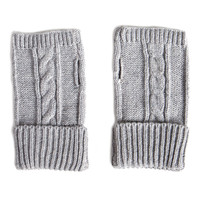 Twist Knit Fingerless Gloves | 2020AVE