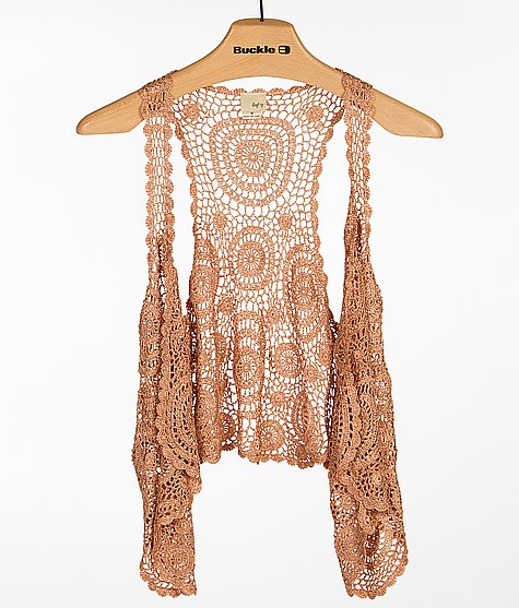 Daytrip Crochet Vest - Womens Vests from Buckle Epic
