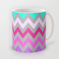 Chevron #10 Mug by Ornaart