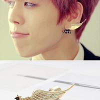 Infinite Dongwoo Angel Wing Cuff Earring [ER-253] - $14.00 - To February ♥ Specializing in Asian Fashion, Korean Fashion, KPOP Merchandise, and KDRAMA Collectibles!