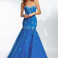 Mori Lee Dress 95123 at Peaches Boutique