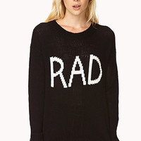 Cool Girl Rad Sweater