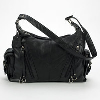 D'Margeaux Double Top Zip - Black