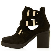 AUBREY2 Suede Cutout Boots - New In This Week - New In - Topshop USA