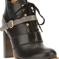 Chloé Lace-up Ankle Boot - Biondini - Farfetch.com