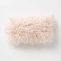 Marabou Boa Pillow - Anthropologie.com