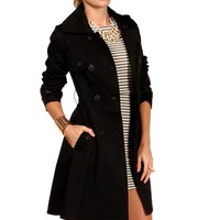 Pre-Order: Black Trench Coat