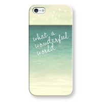 what a wonderful world iPhone & iPod case by Sylvia | Casetagram