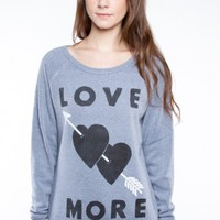 Glamour Kills Clothing - Girls Heart Shot Sweat Top