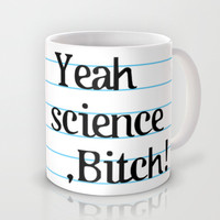 BREAKING BAD - Yeah science, B*tch! Mug by John Medbury (LAZY J Studios)