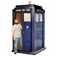 3D Lifesize Tardis - Doctor Who