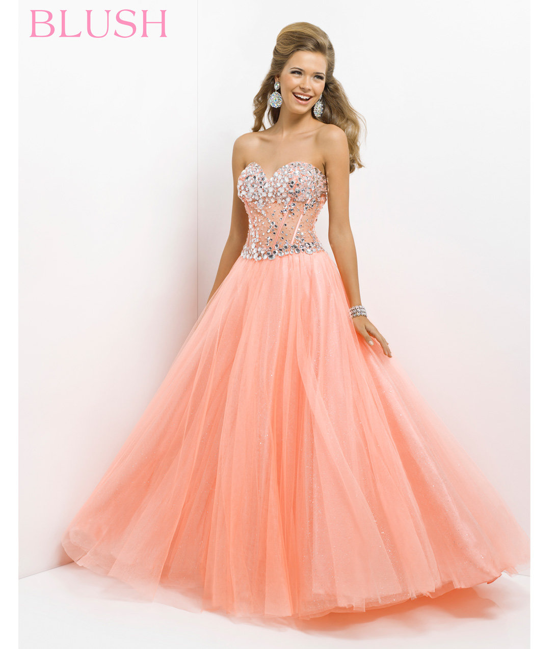 Pink By Blush 2014 Prom Dresses