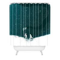 DENY Designs Home Accessories | Budi Kwan Starfield Blue Shower Curtain