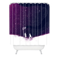 DENY Designs Home Accessories | Budi Kwan Starfield Purple Shower Curtain