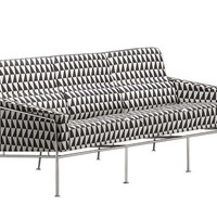 arne jacobsen series 3300 - 3-seater sofa