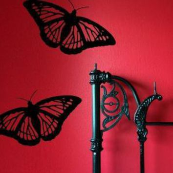 Monarch Butterfly Wall Decals by michellechristina on Etsy
