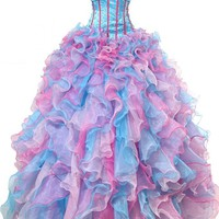 Sunvary Sweetheart Ball Gown Evening Dresses Quinceanera Dresses Long