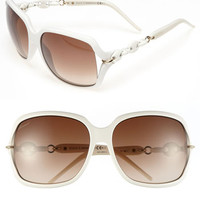 Gucci 'Marina Chain' 59mm Oversized Sunglasses | Nordstrom