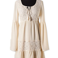 Cream Lace Dress | Studio 706 Boutique