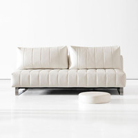 Supra Comfort White Leather Sofa